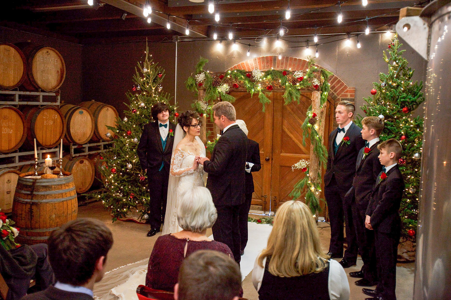 Chamard Vineyard wedding photos